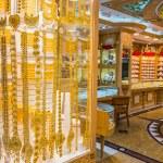 Gold market in Dubai — Stock Photo