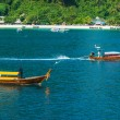 Stock Photo: Boats at sein Thailand