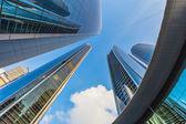 Skyscrapers in Abu Dhabi, UAE — Stock Photo
