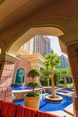 Atlantis hotel in dubai, vereinigte arabische emirate — Stockfoto