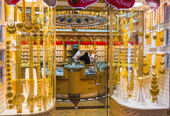 Gold market in Duba — Stock Photo