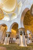 Shejk zayed moské inre — Stockfoto