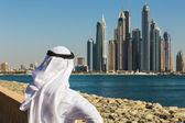 Dubai Marina. UAE — Zdjęcie stockowe