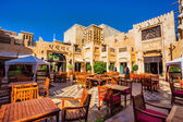 The famous hotel and tourist district of Madinat Jumeirah — Foto Stock