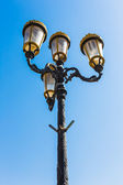 Arabské ulice lucerny v městě dubaj — Stock fotografie