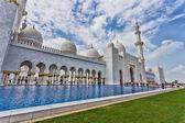 The Shaikh Zayed Mosque — 图库照片