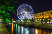 Ferris wheel in Al Qasba - Shajah — Foto Stock