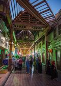 Arabské ulice ve staré části dubai — Stock fotografie