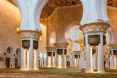 A shaikh zayed mesquita inter — Foto Stock