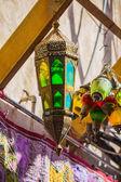 Faroles de la calle árabe en la ciudad de dubai — Foto de Stock
