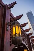 ドバイ市のアラブ ・ ストリート ランタン — ストック写真