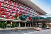 Ferrari World Park in  Abu Dhabi — Stock Photo