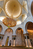 The Shaikh Zayed Mosque inter — Stock Photo