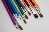 Drawing tools — Stock Photo