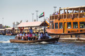 Boats in Dubai — Stockfoto