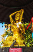 Big Buddha temple complex — Stock Photo