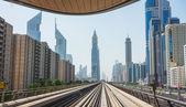 Dubai Metro — Stock Photo