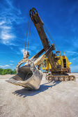 Career excavator — Stockfoto
