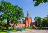 Tower Moscow Kremlin in solar weather — Stock Photo