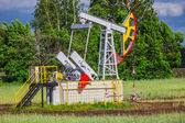 Oil Pump in Russia — Stockfoto