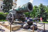 King Kanone im Moskauer Kreml — Stockfoto