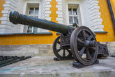 Ancient Cannons In The Moscow Kremlin — Stock Photo