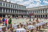 San piazza marco en venecia — Foto de Stock