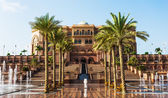 Emirates Palace in Abu Dhabi — Stock Photo