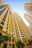 High rise buildings in Dubai — Stock Photo