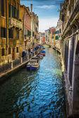 Narrow canal — Stock Photo