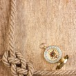 Compass with a rope — Stock Photo #6720419