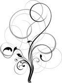 Floral ornamental pattern — Stock Photo