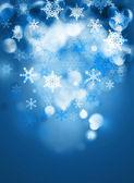 Abstrakt jul former och ljus — Stockfoto