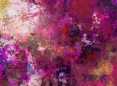 Mixed media painting — Stock Photo