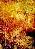 Graffito con oli e acrilici — Foto Stock