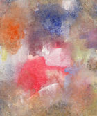 Akvarel a kvaš textury — Stock fotografie