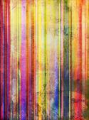 Striped paint shapes mixed media — Stock Photo