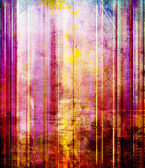 Light texture on striped mixed media — Foto de Stock