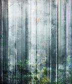 Light texture on striped mixed media — Stock Photo
