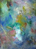 Tuval üzerine boya textures — Stok fotoğraf