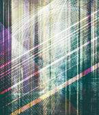 Stripes on abstract mixed media — Stock Photo