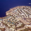 Stock Photo: View to Sharm El Sheikh from plane