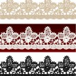Royalty-Free Stock Vector Image: Openwork lace seamless border.