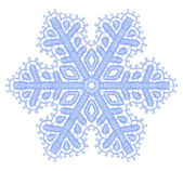 Lacy snowflake. — Stock Vector