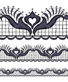 Seamless openwork lace border. — Vetorial Stock