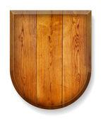 Realistické Dřevěná deska. — Stock vektor