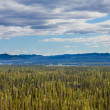 Stock Photo: Central Yukon T Canadtaigand Ogilvie Mountains