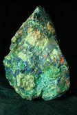 Malachite azurite conglomerate found in Arizona US — Stock Photo