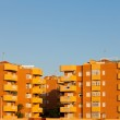 Modern architecture apartment units in Spain — Stock Photo