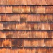 Westen red cedar shingles natural texture pattern — Stockfoto